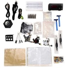 T03 Professional 3-Tattoo Kit Tattoo Machine + Power Supply + Pedal + Needle + Accessories Kit