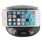 "1.8"" Bluetooth Car MP3 Player & FM Transmitter w/ Phone Holder - Black"