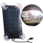 6V 2.5W Multi-Purpose Panel Solar Charger for IPHONE 5 / 6 / 6S / Samsung Galaxy S3 / S4 - Black