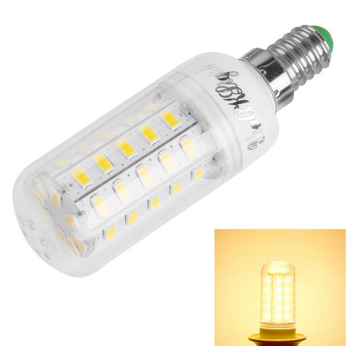 YouOKLight E14 9W LED Corn Bulb Lamp Warm White Light 3000K 48-SMD