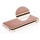Kaneng Aviation Aluminum Back Case for IPHONE 6 PLUS - Brown