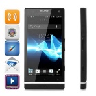 "Sony LT26ii Xperia SL Android 4.0 WCDMA Phone w/ 4.3"" Screen, GPS and Wi-Fi - Black (US Plug)"