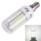YouOKLight E14 18W LED Corn Bulb Lamp White Light 6000K 1780lm 69-SMD 5730 - White (AC 110V)