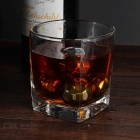 Wine Whiskey Drink Chiller Stones Ice Cubes - Silver (Diamond / 4PCS)