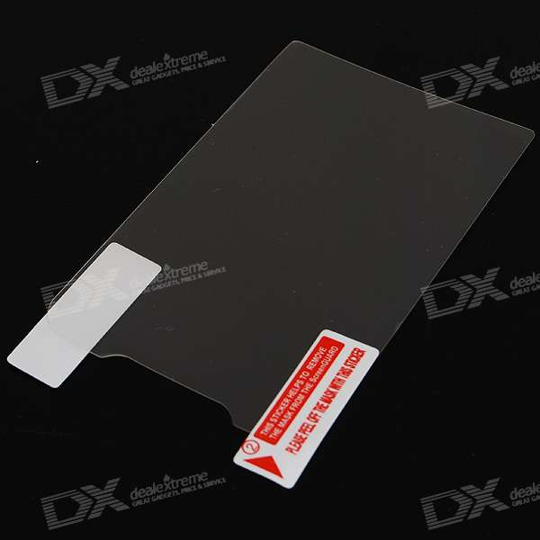 LCD Screen Protector with Cleaning Cloth for HTC G6