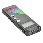 "Noise Reduction 1.0"" Digital Voice Recorder MP3 - Irony Grey (8GB)"