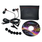 JBMMJ 3.5mm bouchon filaire In-Ear Earphones w / Mic. / À distance-Café