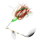 FURA Willow Blades Sequins Fishing Spinner Lure Spinnerbait - Green