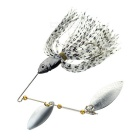 FURA Willow Blades Sequins Fishing Spinner Lure Spinnerbait - Black