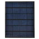3.5W 6V Output Polycrystalline Silicon Solar Panel - Black + Green