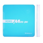 VOYO Dual Boot Win 8 + Android 4.4 Quad-Core Mini PC w / 2GB RAM, 64 GB ROM - Blau + Weiß