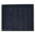3.5W 18V Output Polycrystalline Silicon Solar Panel - Black + Green