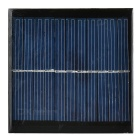 DIY 1W 5.5V Output Polycrystalline Silicon Solar Panel - Black + Green