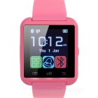"U8 Wearable 1.48"" Touch Screen Smart Watch w/ Bluetooth / Pedometer / Alarm Clock / Anti-Lost - Pink"