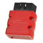 KONNWEI KW902 ELM327 Bluetooth Car OBDII Fault Code Reader Scanner Diagnostic Tool - Red