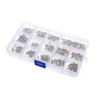 DIY 15 Valor 10pF ~ 100nF 50V Monolithic Capacitores Variedade Box Kit ( 450pcs )