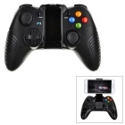Intelligent Bluetooth V3.0 Wireless Game Controller for PC / Android Phones - Black + Multicolor