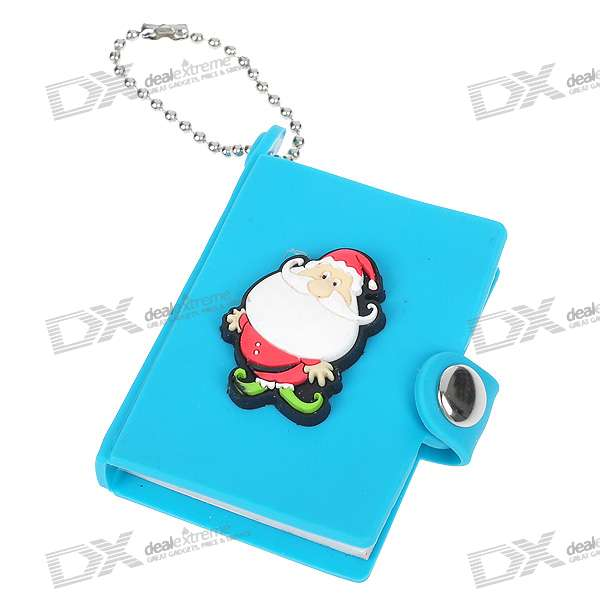 Cute Cartoon Character Note Pad with Keychain and Strap (Color Assorted)