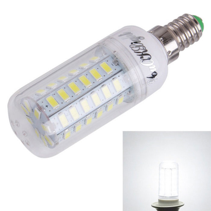YouOKLight YK1164 E14 15W LED Corn Light Bulb Cool White 56-SMD 5730