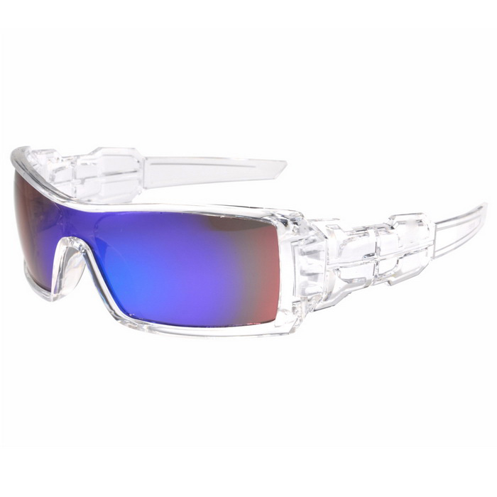 UV400 Protection PC Sports Cycling Driving Sunglasses- Blue