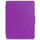 EPGATE Ultrathin Protective PU + PC Flip Case w/ Auto Sleep for KOBO GLO HD - Purple