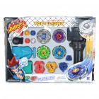 Plastic Beyblade Spinning Tops/Gyro Set (Random Color)