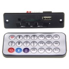 3.7 ~ 5V 3W Stereo WAV + MP3 Audio Decoder Placa - preto +