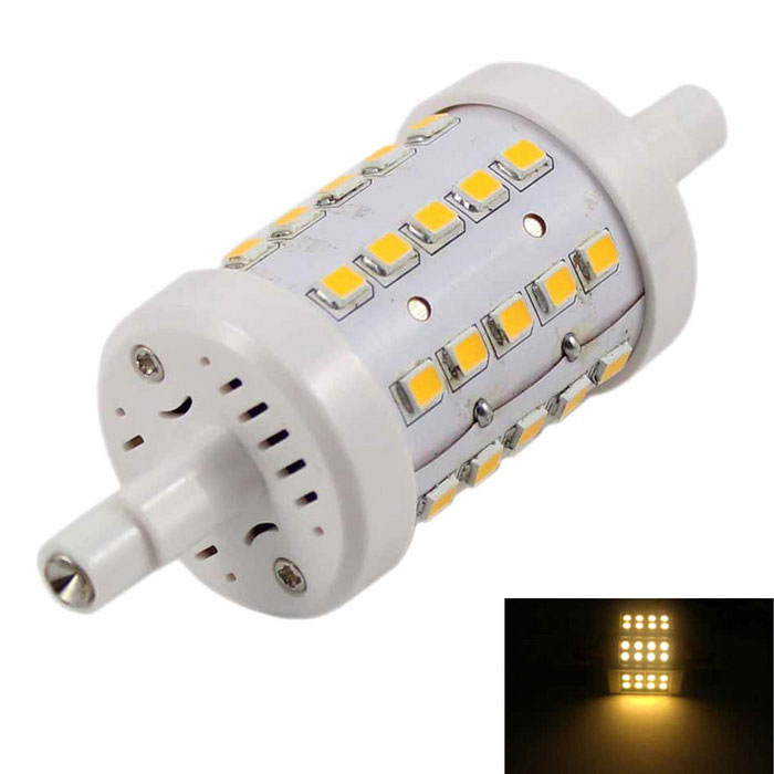 R7S 5W 400lm 3000K 40-SMD 2835 LED Warm White Light Floodlight