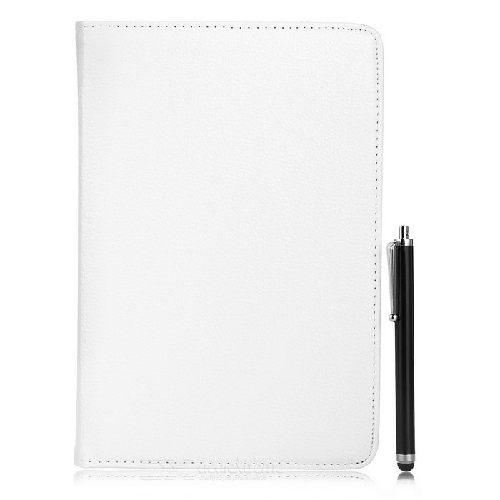 Protective Case w/ Touch Pen for Samsung Galaxy Tab S2 8.0 - White