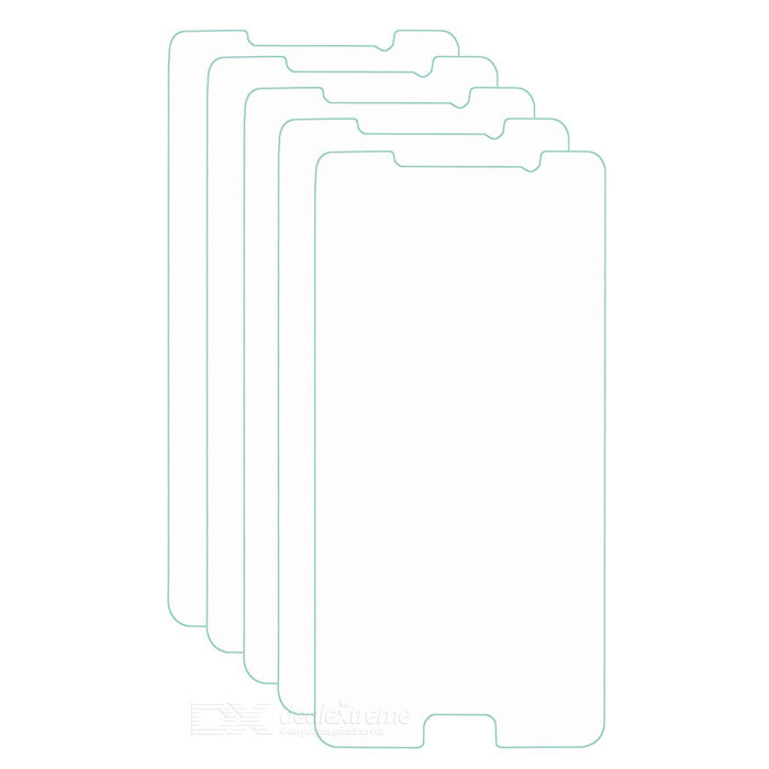 Clear PVC Screen Protector for Samsung Note 5 - Transparent (5PCS)
