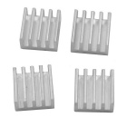 Aluminum Radiators Power Module Heat Sinks - Golden (11 x11 x 5mm / 20 PCS)