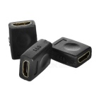 Portable HDMI Female to HDMI Female Adapters - Black (3PCS)