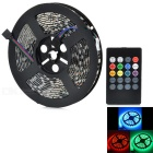 JRLED Waterproof 60W LED Light Strip RGB 6000lm 300-SMD 5050 w/ Music 2.0 Controller (5m / EU Plug)