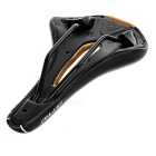 DEPRO DS-19 Hollow-out Bike Bicycle Seat Cushion Saddle - Black + Gold