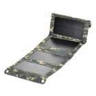 8W 5V 1.6A faltbare Sonnen Power Panel w / USB 2.0 - Camouflage