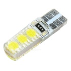 T10 2W LED Car Backup Light Clearance Lamp Cold White 10000K 6-SMD