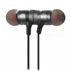 AWEI A920 BL Wireless Sports Stereo Bluetooth V4.0 In-Ear Earphone - Iron Grey
