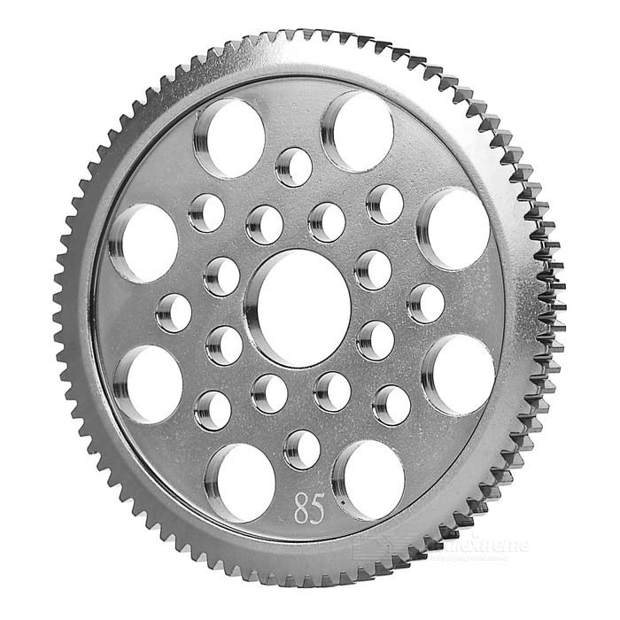 Stainless Steel 85T Gear for 3Racing Sakura XIS R/C Car - Silver