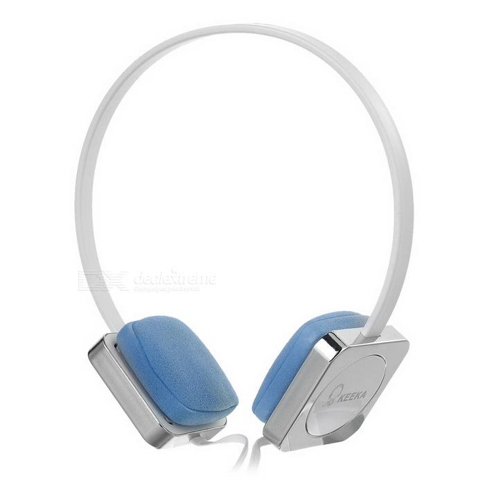 Gaming Headset w/ Mic, Voice Control - White + Silver (3.5mm, 112cm)