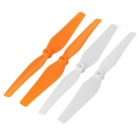 Main Blade Propeller Spare Parts for SYMA X8C / X8 - Orange + White (4PCS)