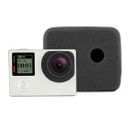 Wind Noise Reducing Foam Cover Case for GoPro Hero 4 / 3+ / 3 - Black