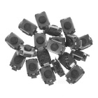 SMD Tactile Push Switches for Nano - Silver (20 PCS)