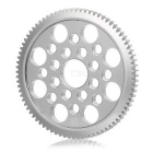 Stainless Steel 80T Gear for 3Racing Sakura CS D3 RC Car - Silvery Grey