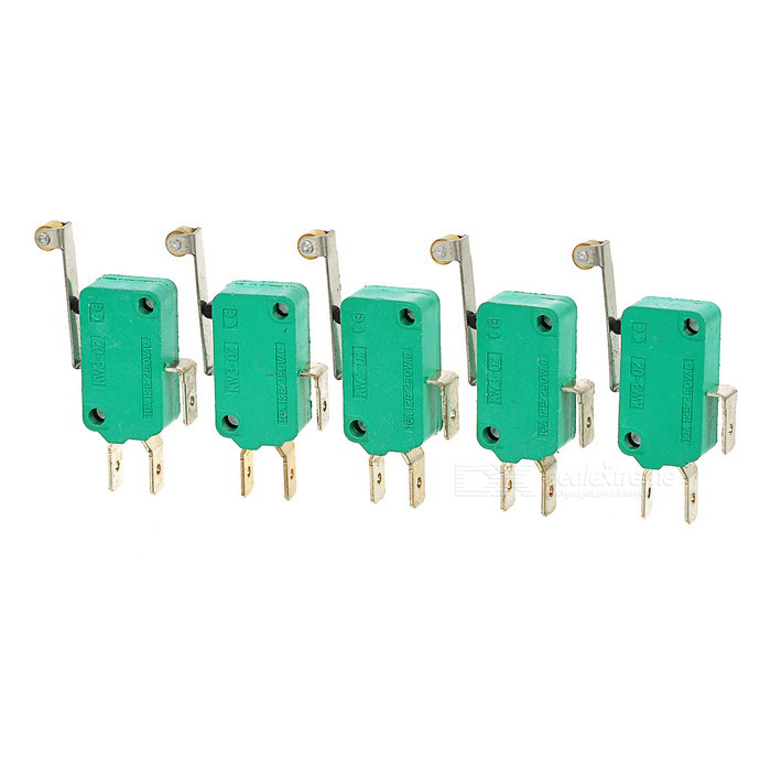 High Temperature Resistant Switches w/ Wheel - Green (5PCS)