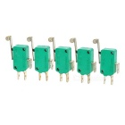 Alta Temperatura Switches resistentes w / Roda - verde ( 5 PCS )