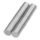 15*2mm NdFeB Magnets - Silver (100PCS)