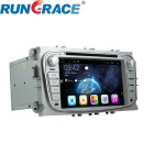 Rungrace Android 7-Inch 2-Din Car DVD Player w/ BT, GPS, IPOD, Wi-Fi, CAN BUS, ISDB-T for Ford Focus