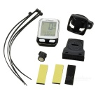 "CTSmart 22-Functional 1.7"" Screen Bike Computer w/ Stop Watch - White"