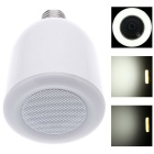 Creative Wireless Bluetooth Audio Speaker w / E27 Dimmbare LED-Licht - Weiß