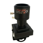 HJ 700TVL CCD Mini CCTV Security FPV Camera OSD D-WDR 2.8-12mm Focus Zoom Lens